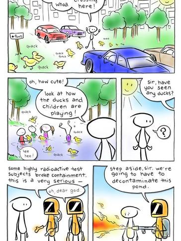 EPISODE 9: Remember those cute ducks?