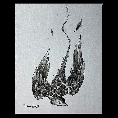 Original pen and ink drawing #5