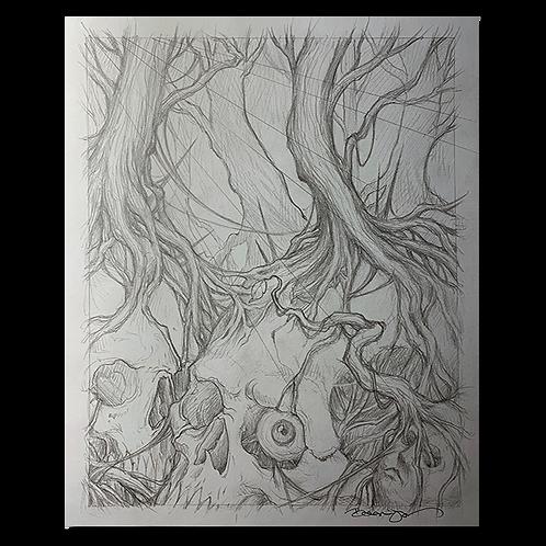 Original pencil sketch #2