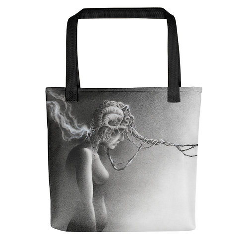 TEARS ONLY FEED IT Tote bag