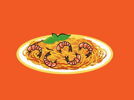 Better Condo Living with Carla: Rice Cooker Shrimp Pasta