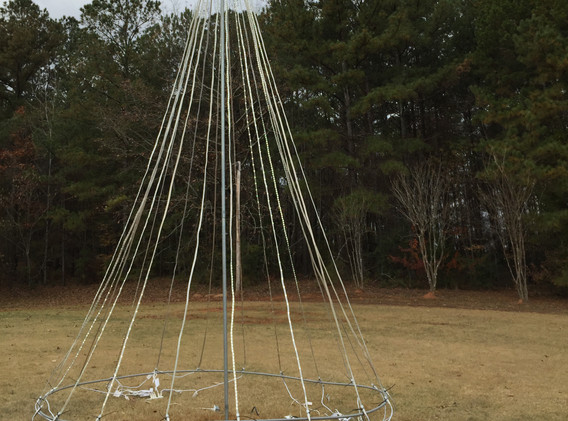 20' Tree of LED lights