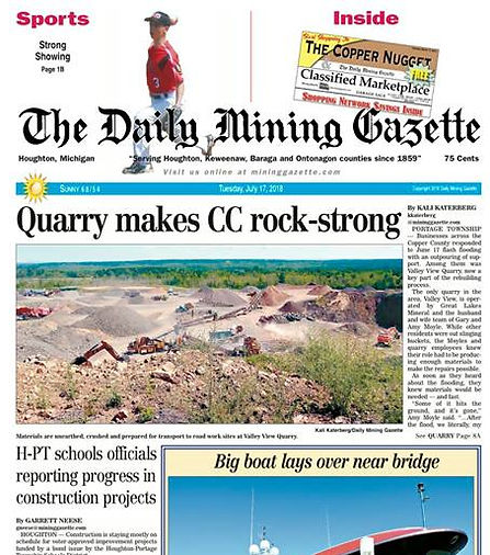 QUARRY FRONT PAGE DMG.jpg
