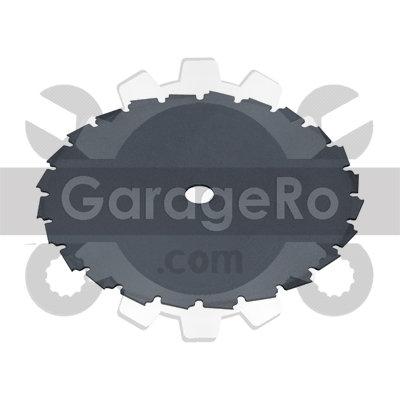 Disc taietor motocoasa 250 x 40Tx 25.4mm NAKAMURA (dinti dubli)