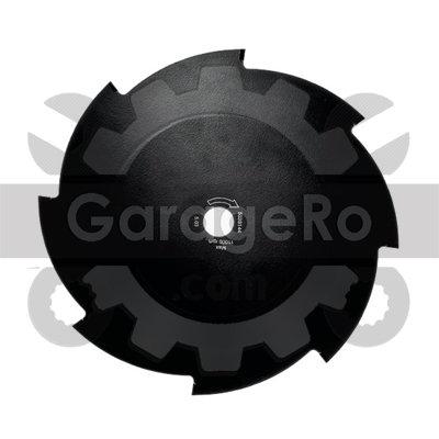 Disc taietor motocoasa 230 x 8T x 25.4mm laturi Red Mountain