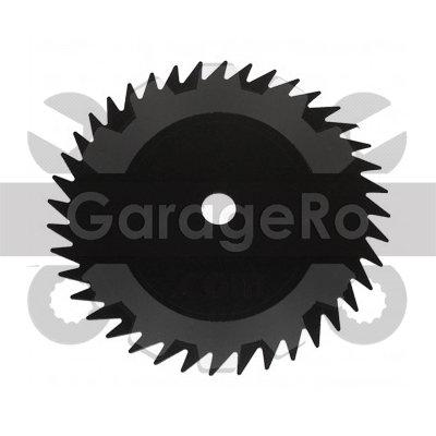 Disc taietor motocoasa 250mm x 25.4 40dinti (simplu)