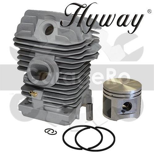 Kit cilindru drujba Stihl MS 230, 023 Hyway Ø 40 mm Piston placat cu teflon 1