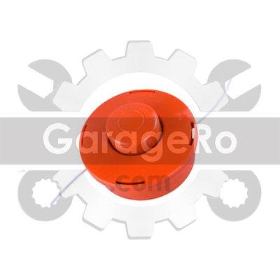 Mosor motocoasa cu fir 25-2 (Nr 4) - portocaliu