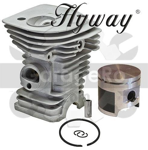 Kit cilindru drujba Husqvarna 340, 345 Hyway Ø 40 mm (Piston placat cu teflon) 1
