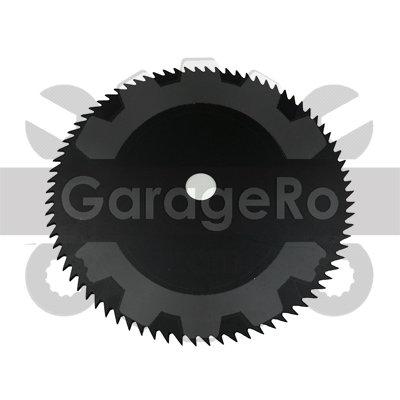 Disc taietor motocoasa 255 x 80T x 25.4mm (simplu)