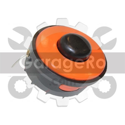 Mosor cu fir trimmer electrica (portocaliu) Ø 6mm