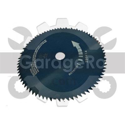 Disc taietor motocoasa 230 x 80 T x 25.4mm Red Mountain
