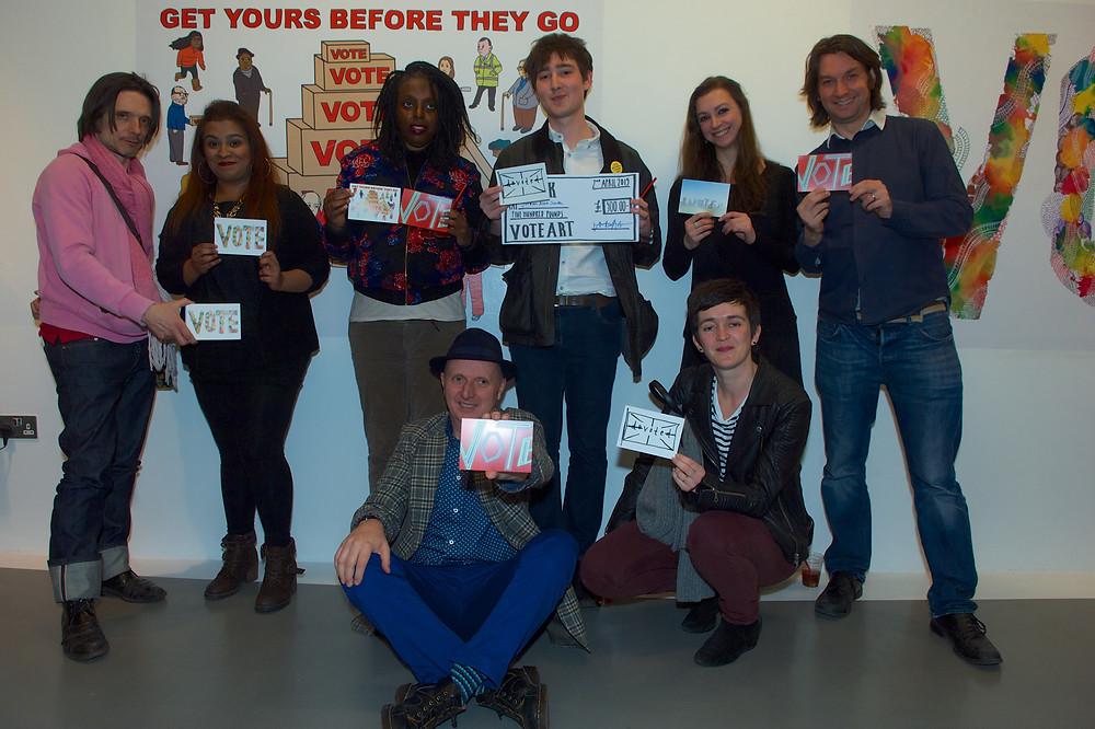 Vote Art Artists at Peckham Platform Launch.jpg