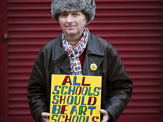 Bob and Roberta Smith: on a mission to unseat Michael Gove