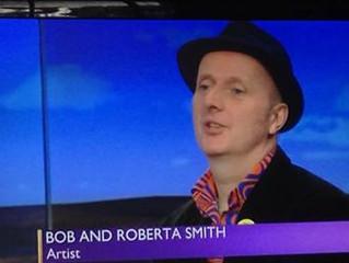 Bob & Roberta Smith on the Beeb!