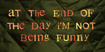 I'm Not Being Funny by Mat Do.jpg