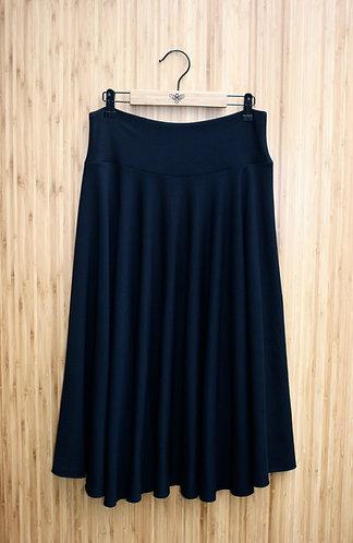 Classic Bamboo Circle Skirt - Midi