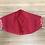 Thumbnail: Batik Red and White Face Mask