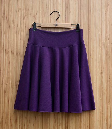 Bamboo Circle Skirt - Mini (fleece lined)