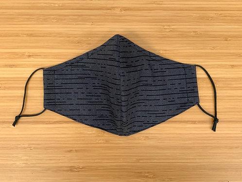 Grey Dash Face Mask
