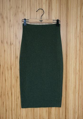 Bamboo Pencil Skirt (fleece lined)