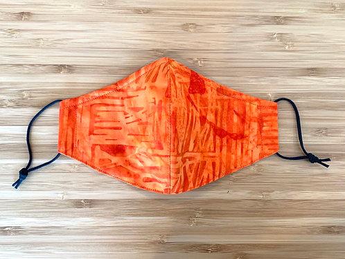Batik Scratch Face Mask