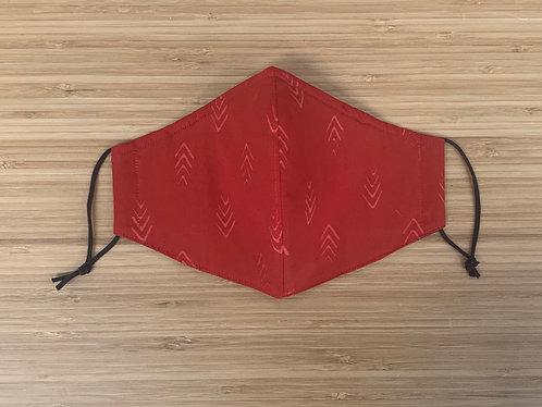 Batik Arrows Face Mask