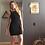Thumbnail: Merino Wool Body Contour Dress (fleece lined)