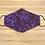 Thumbnail: Purple Cheetah Face Mask