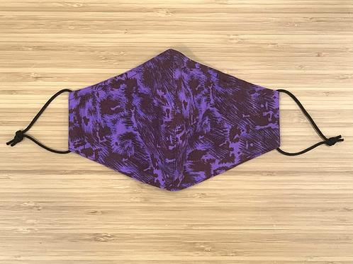 Purple Cheetah Face Mask