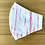 Thumbnail: Pink Tie Dye Stripe Face Mask