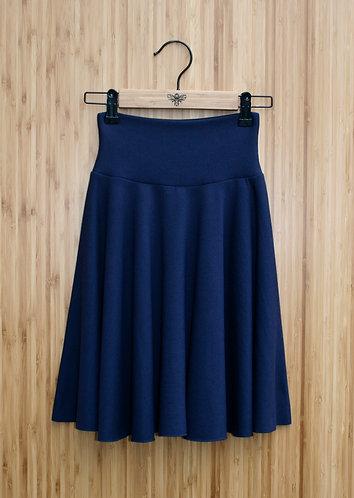 Merino Wool Circle Skirt - Mini (fleece lined)
