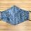 Thumbnail: Batik Blue Face Mask