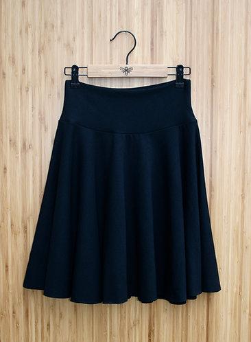Classic Bamboo Circle Skirt - Mini