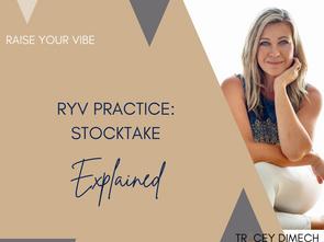 RYV PRACTICE: STOCKTAKE