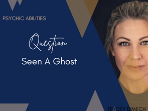 Seen A Ghost?