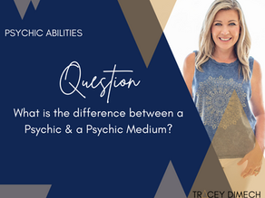 Psychic vs Psychic Medium. What's the difference?