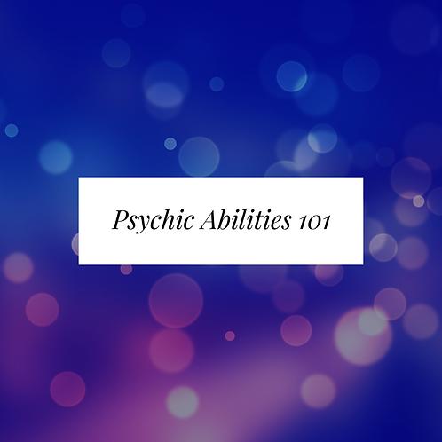Psychic Abilities 101 PDF