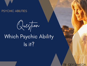Which Psychic Ability Is It?