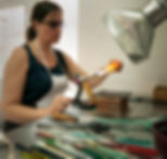 Nadia Tasci Tasci Designs glass bead making flameworking lampwork studio glass rods contemporary jewellery