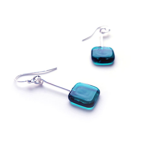 Square Art Deco Earrings