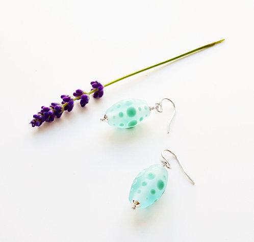 WS Glass Drop Earrings
