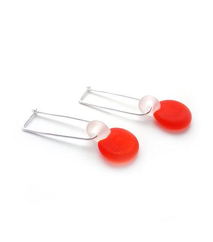 WS Geometric Drop Earrings