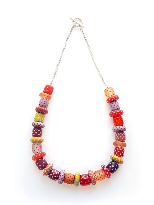 WS Polka Dot Necklace