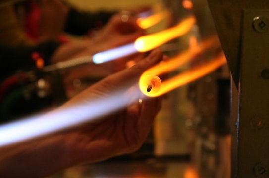 Tasci Designs Glass bead making classes flamework lampwork studo