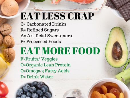 Don't Eat CRAP!!!!