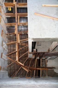 coffrage+escalier