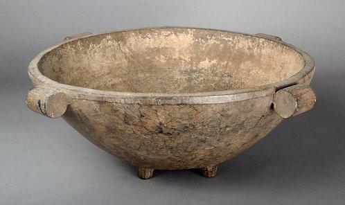 Large circular Tongan Kava Bowl