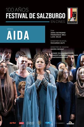 Aida - Festival de Salzburgo Poster (Ver