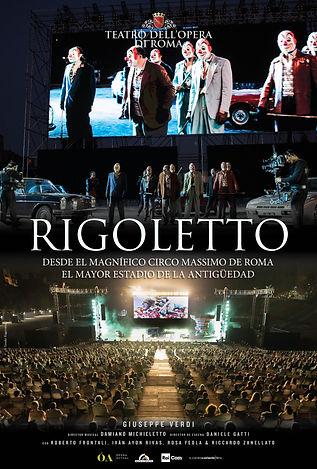 Rigoletto - Teatro Roma Poster (Spanish)
